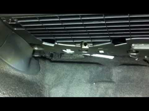 (* AUDI A4 B8 *)( How to Cabin Air Filter replacement )