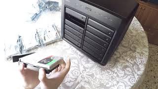 Synology DS3617xs & HD IronWolf Pro Install!!!