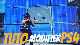 TUTO - COMMENT MODIFIER RAPIDEMENT SUR PS4 - FORTNITE BATTLE ROYAL