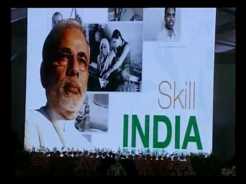 PM Modi lays foundation of Indian Institute of Skills in India at Kanpur