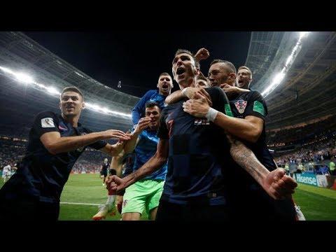 La Croatie En Finale!!!!!Croatie-Angleterre (2-1)Tout les buts