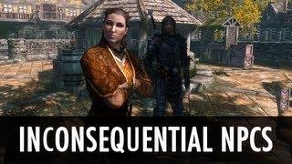 Skyrim Mod: Inconsequential NPCs