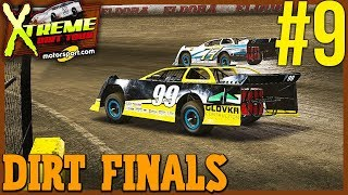 THE DIRT FINALS TO FINISH UP THE SEASON! | NASCAR Heat 3 Career Mode Ep. 9
