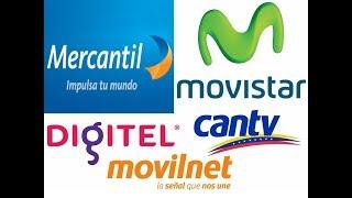 como realizar pagos de Cantv, recargas de movistar o digitel por mercantil en linea