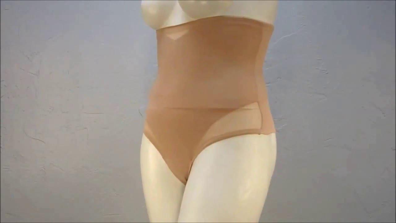 a7b16b9b2dd83 Style 2778 - Miraclesuit® Sexy Sheer Shaping Hi-Waist Thong 360 Shapewear  Video