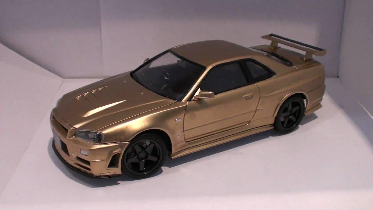Aoshima 1/24 NiSSAN NISMO Z TUNE Car plamo - YouTube