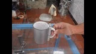 prensa manual para sublimar tazas con horno electrico