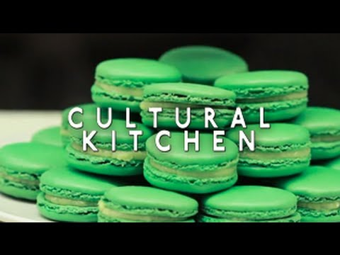 Pistachio Macaron Recipe with Olivier Dessyn