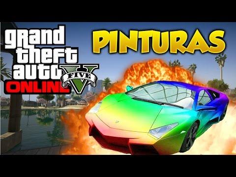 GTA 5 Online Pinturas Extrañas y Raras #2 Combinaciones de Colores Grand Theft Auto V Online