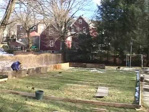 Building a Backyard Ice Rink Ross Bergen - YouTube