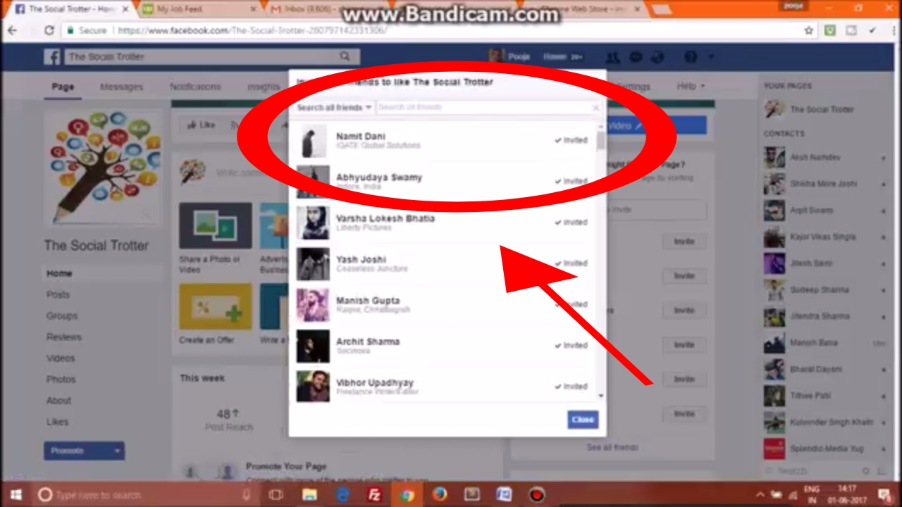 How to Invite All Friends to Like Facebook Page on One Click 2017