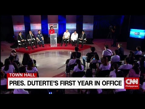 CNN Philippines Town Hall: President Duterte's first year in office