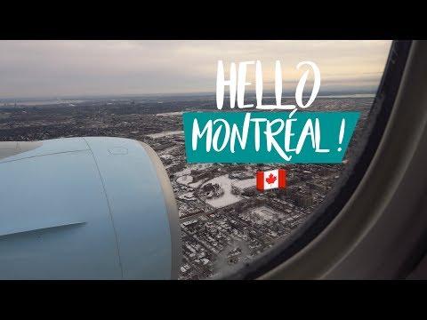 VLOG | ON QUITTE PARIS POUR MONTRÉAL ! 🇫🇷 ✈🇨🇦