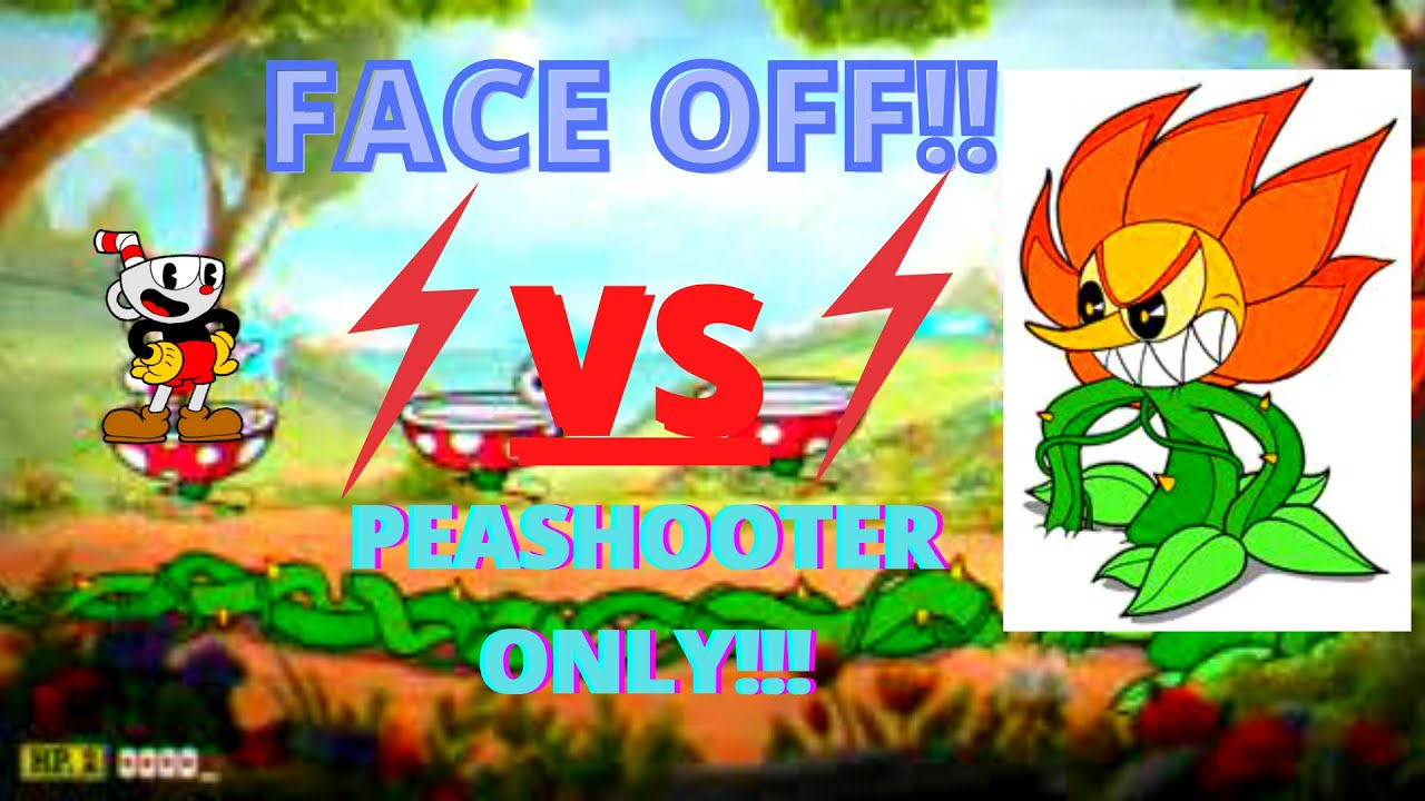 CAGNEY DARNNATION OMFGGGGGGG cuphead peashooter only! Ep3!