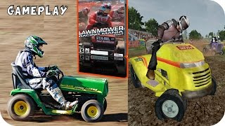 Lawnmower Racing Mania 2007 Gameplay PC HD