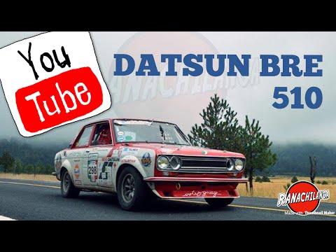 ASESINO DE GIGANTES! Datsun Bre 510. La Carrera Panamericana