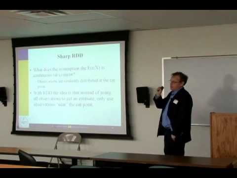"""Regression Discontinuity Design: Econometric Issues"""