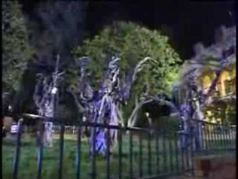 grim grinning ghosts disney sing along songs disneyland fun youtube