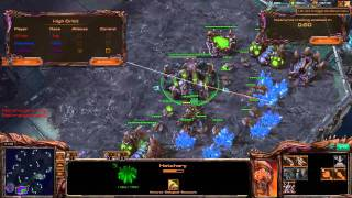 Destiny, Minigun play 2v2 [Game 8] - Starcraft 2 Ladder