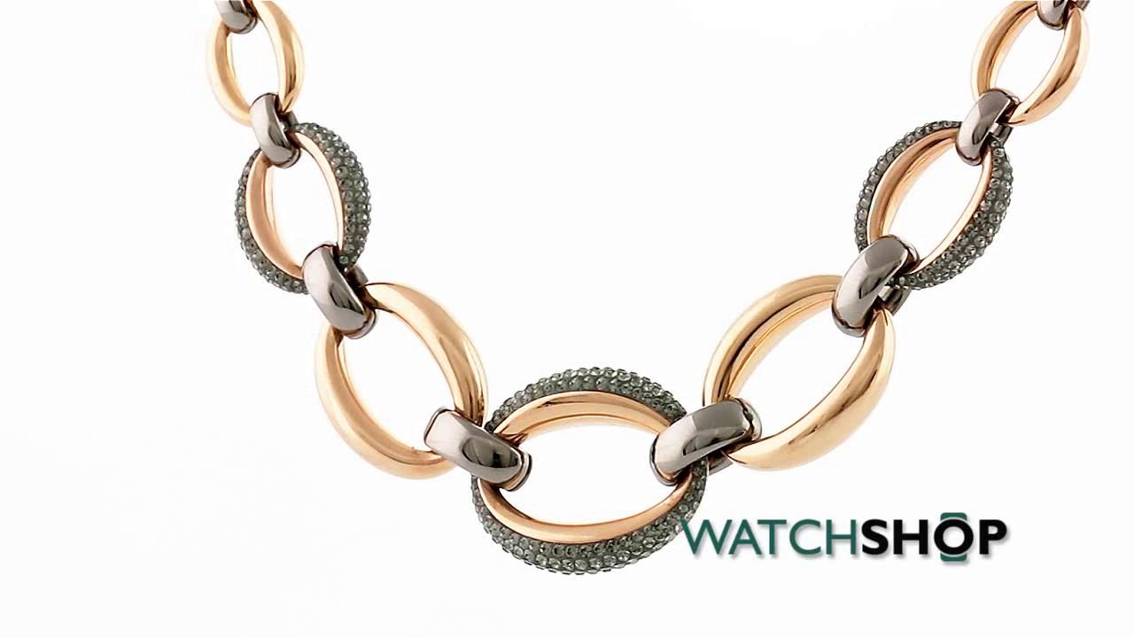 c15bd7b006134 Swarovski Jewellery Ladies' PVD rose plating Circlet Necklace (5153380)