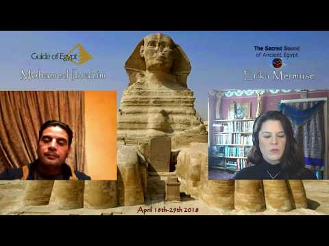 The Sacred Sound of Ancient Egypt Tour, April 18-29,2018