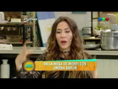 Jimena Barón confesó que hay un futbolista que la puede