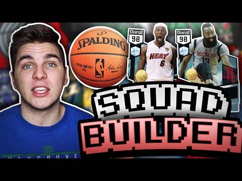 PLAYERS WITH COMBINED NAMES SQUAD BUILDER! NBA 2K17