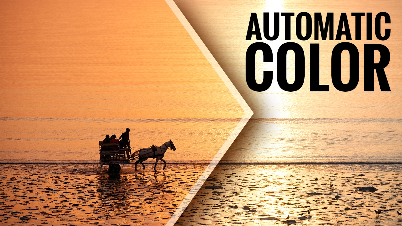 Automate Color Correction in Photoshop CC 2017