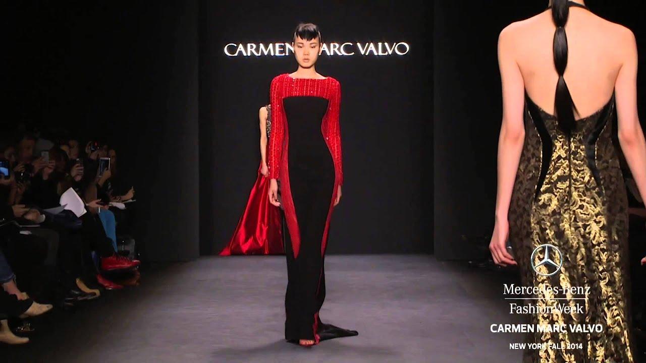 Fashion style Marc carmen valvo fall for lady