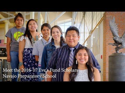 Eve's Fund Scholars from Navajo Prep