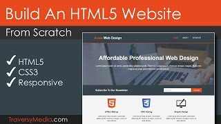 Build An HTML5 Website With A Responsive Layout Mp3