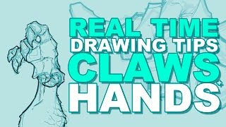 Drawing Tips: Hands and Claws