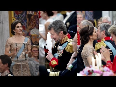 "Crown Princess Mary to her husband: ""I am so happy that you swept me off my feet"""