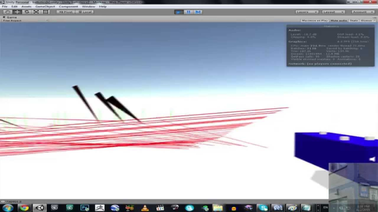Unity 3D Bullet physics ( ricochet and tracing ) by Muzkaw [ TEST ]