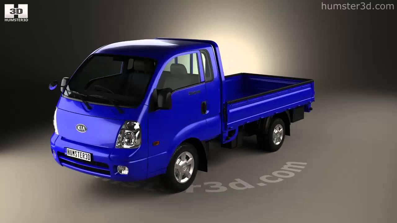 kia bongo pu pickup 2004 3d model by youtube. Black Bedroom Furniture Sets. Home Design Ideas