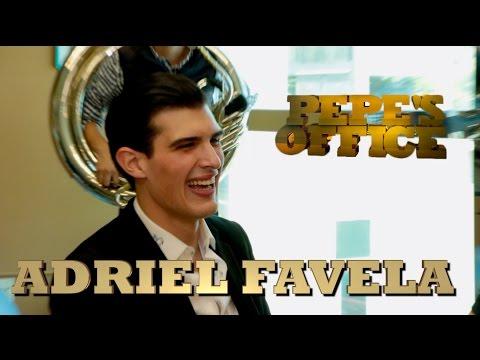 ADRIEL FAVELA VISITA A PEPE GARZA - Pepe's Office