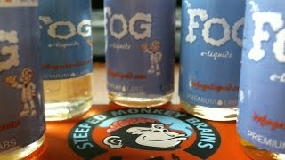 Dr. Fog Juice Review & Steeped Monkey Brains