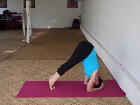 Headstand - Sirsasana - Julie Martin - Brahmani Yoga