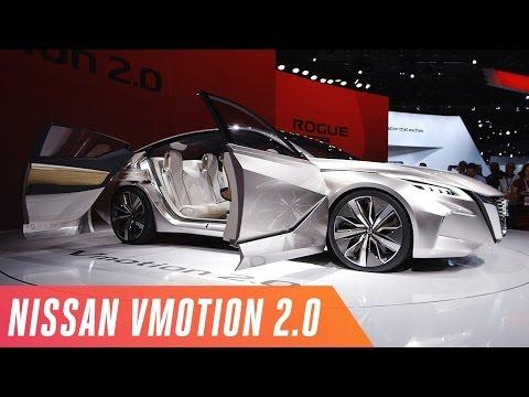 Nissan's futuristic Vmotion 2.0 concept car