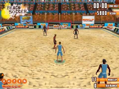 Miniclip Beach Soccer