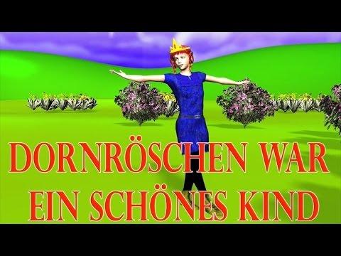 Dornröschen war ein schönes Kind 3D | Kinderlieder deutsch