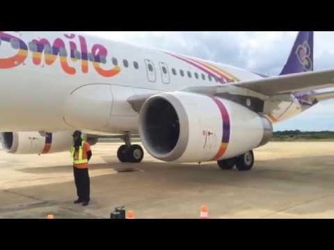 บินครั้งแรก! นั่งไทยสมายล์ นราธิวาส-สุวรรณภูมิ เมืองงามปลายแดนขวานแดนสยาม Thai Smile Airways