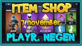 Fortnite ITEM SHOP from November 7th (all skins, all gliders, all emotes and all axes) – Playr NINE