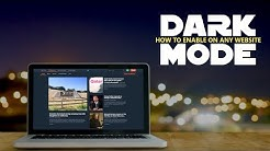 How to Enable Dark Mode on Every Website