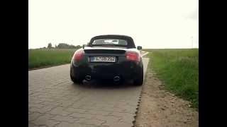 Audi TT (8N) 1.8T mit Sportauspuff von Supersport