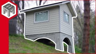 Shed - Man Cave - with a Concrete Foundation - How To