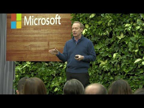 Microsoft President Brad Smith on Microsoft's Commitment to Become Carbon Nega...