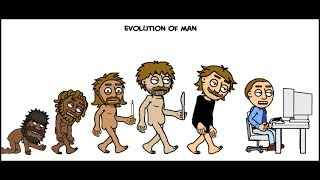 The Evolution of Man - 2014 The History Human Evolution - Video Scribe Edition