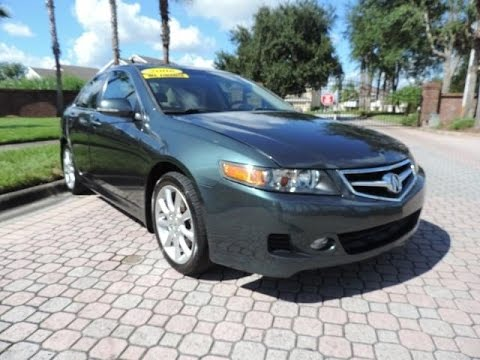 2006 Acura TSX Startup, Engine, Tour & Overview - YouTube