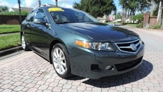 2006 Acura TSX Startup, Engine, Tour & Overview